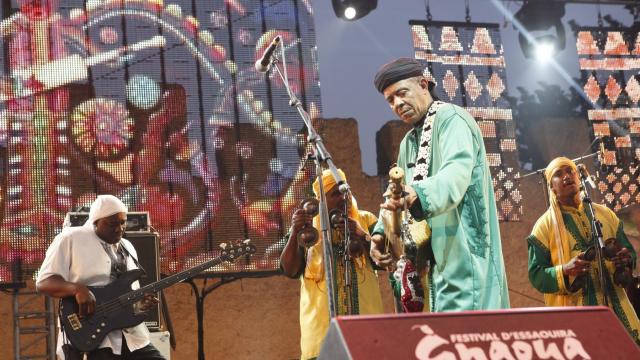 Festival Gnaoua 2013 - maâlem mustapha baqbou 2