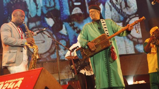 Festival Gnaoua 2013 - maâlem mustapha baqbou 3