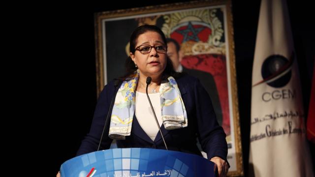 Meriem Bensalah - CGEM Assemblée Générale rapport moral 17 Juin 2013 - 1