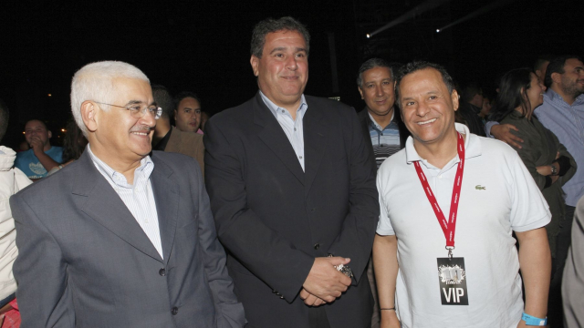 Festival Timitar 2013 - Aziz Akhannouch et Mehdi Qotbi