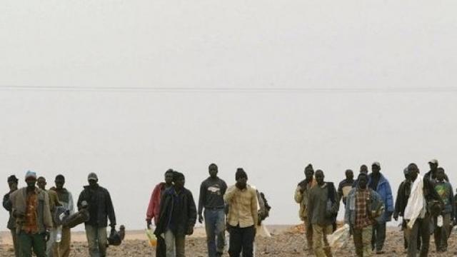 Immigrés subsahriens