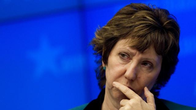 Catherine Ashton haute représentante de l'Union européenne pour les affaires étrangères et la politique de sécurité