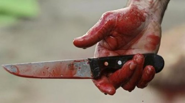 couteau sang