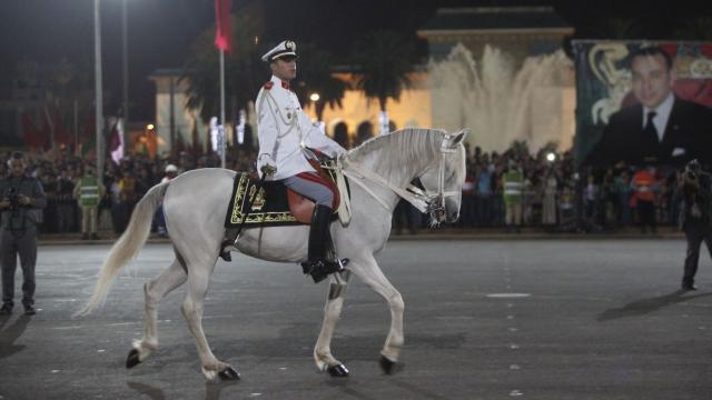 Parade Garde Royale le 29 juillet 2013 bd Zerktouni. av Hassan 2. place Mohammed V - 18