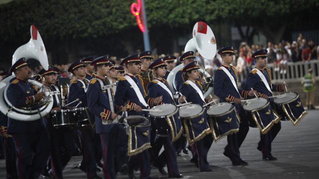 Parade Garde Royale le 29 juillet 2013 bd Zerktouni. av Hassan 2. place Mohammed V - 21