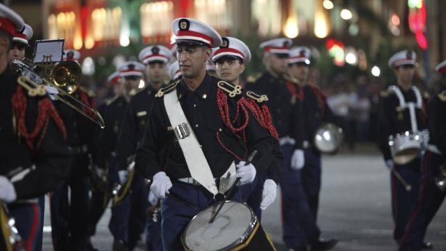 Parade Garde Royale le 29 juillet 2013 bd Zerktouni. av Hassan 2. place Mohammed V - 23