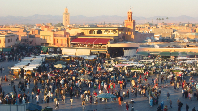Marrakech place Jamaa El Fna