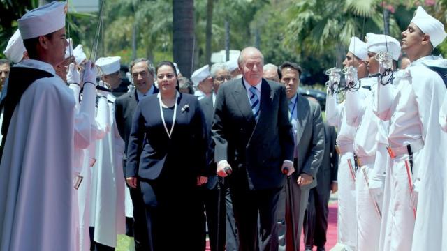 Forum économique Maroc-Espagne Juan Carlos Miriem Bensalah