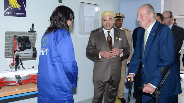 Juan Carlos - Mohammed VI - Centre de jeunes