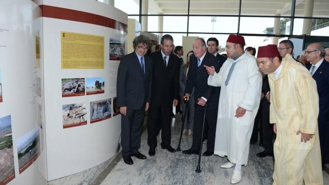 Juan Carlos - Mohammed VI - Mly Rachid