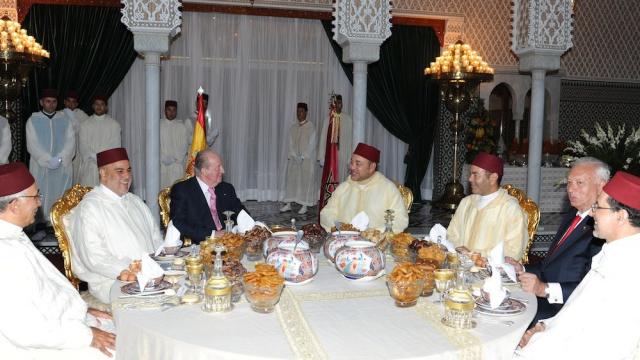 Iftar officiel en l'honneur du Souverain espagnol