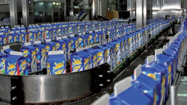 Lait centrale laitière