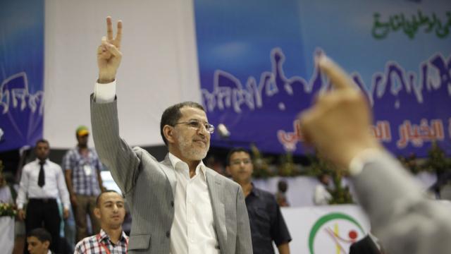 Meeting jeunesse du PJD - 31 août 2013 - Saad Eddine Othmani Rabiaa