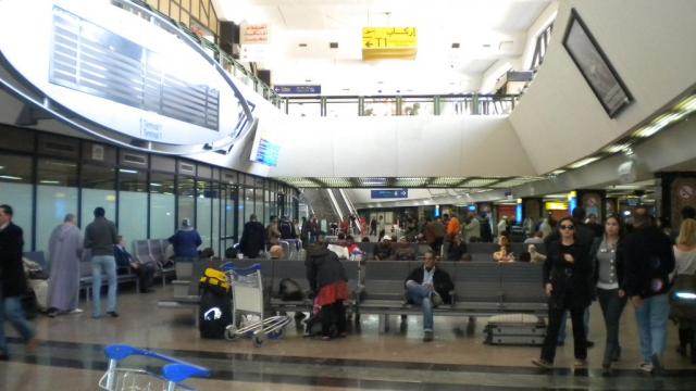 Aéroport mohammed V casablanca