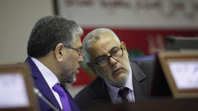 Benkirane et Ramid (Charte justice)