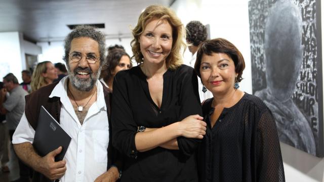 MOUNAT CHARRAT vernissage - 17 septembre - YAKIN & BOAZ GALLERY - Kantour Tibari Valérie Tazi