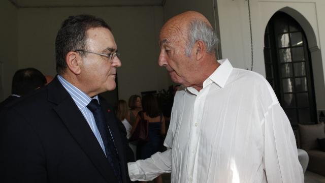 Tanjazz 2013 - samedi 21 septembre - Mourad Cherif président du Conseil de surveillance BMCI et philipe morin