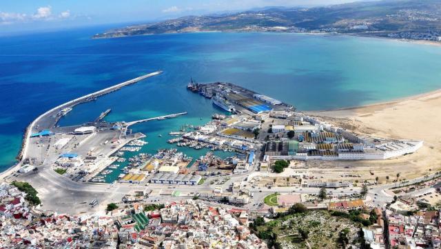 Port Tanger Maroc