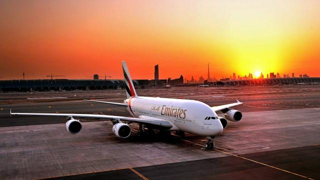 Airbus A380 compagnie aérienne Emirates