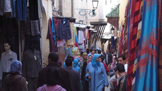 Maroc-souq-rue