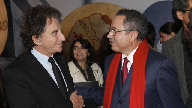 Jack Lang et Alami Lazraq, Président Directeur Général du groupe Alliances