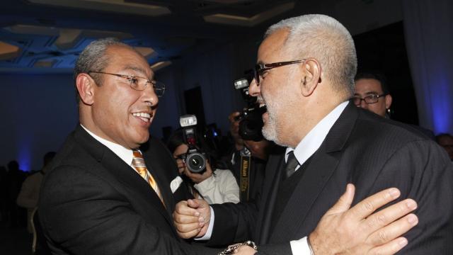 Grand prix de la presse - Mohamed Miftah (FMEJ) et Abdelilah Benkirane