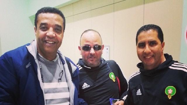 Hassan Benabicha et son équipe