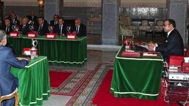 conseil des ministres roi Mohammed VI gouvernement