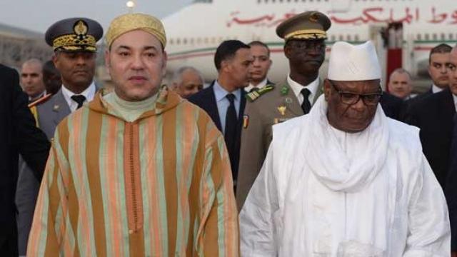 Mohammed VI au Mali