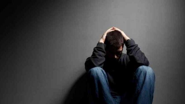 Dépression. personnes dépressives
