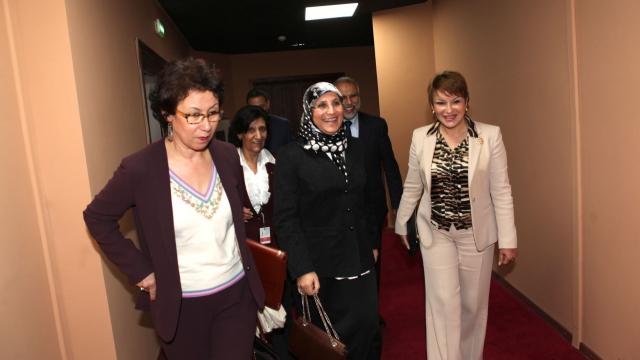 Bassima Hakkaoui - ministre de la Femme, de la solidarité, de la famille - Hakima El Haiti