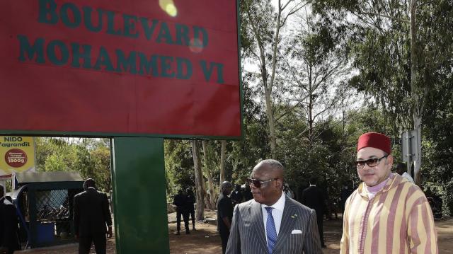 Inauguration BD Mohammed VI à Bamako