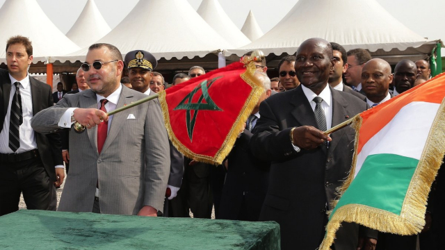 roi Mohammed VI inauguration abidjan-premier ministre ivoirien
