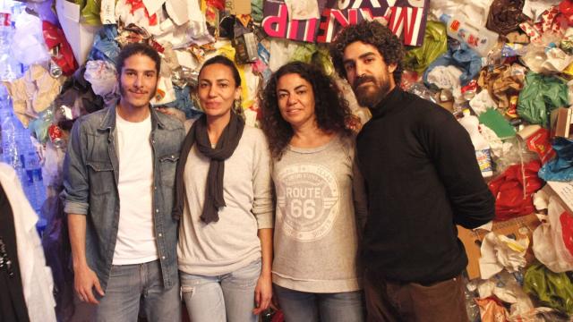 Collectif Zbel Manifesto - Othman Zine, Ghizlane Salhi, Katia Salhi et Saad Alami