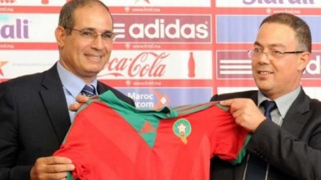 Fouzi Lekjaa et Badou Zaki