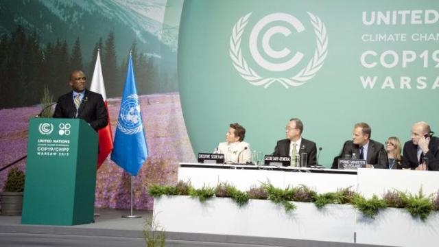 Conférence de Varsovie sur le changement climatique (novembre 2013.