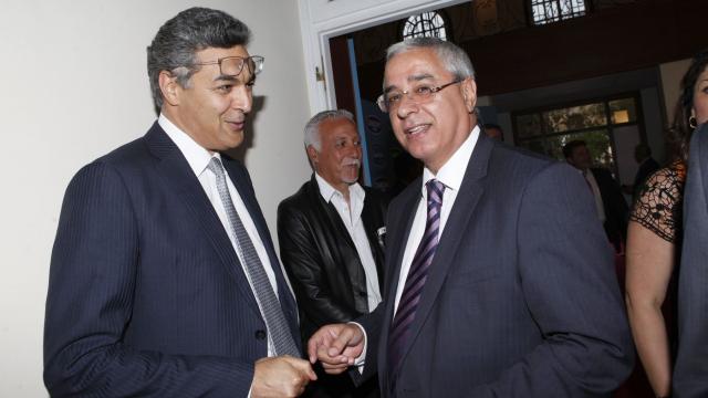 Abbas Azzouzi et Khalid Cheddadi