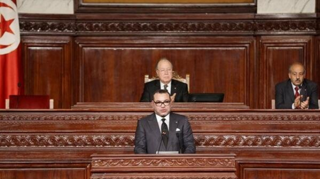 Roi Mohamed VI assemblée tunsienne le 31-mai