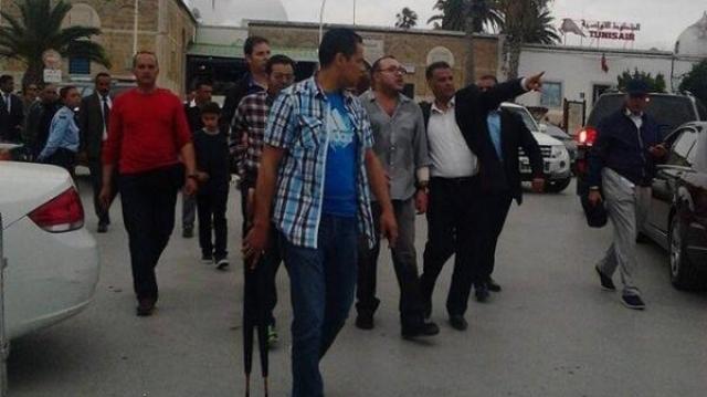 Mohammed VI à Tunis