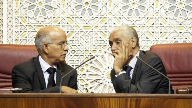 Cheikh Biadillah et Rachid Talbi Alami-Parlement