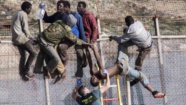 Immigration-Melilla
