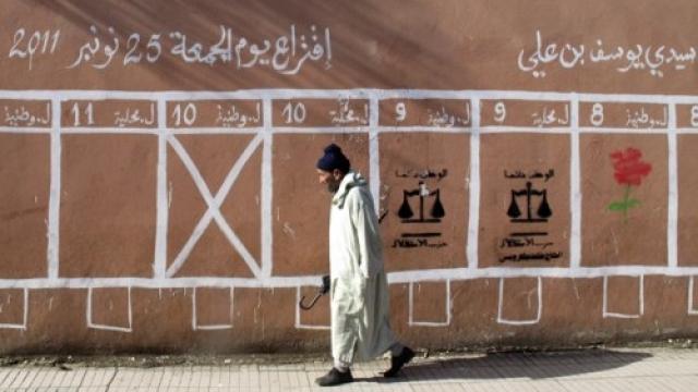 élections -mur affichage