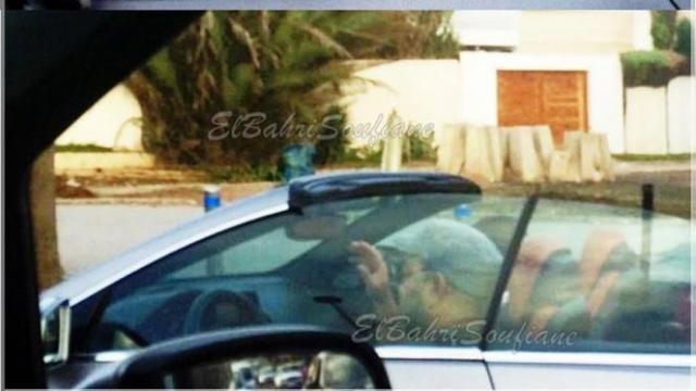 Mohammed VI en voiture