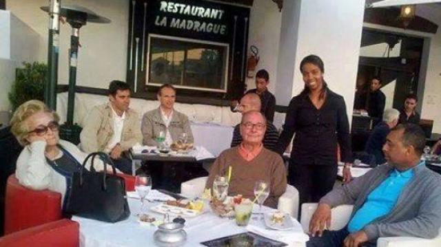 Chirac à Agadir