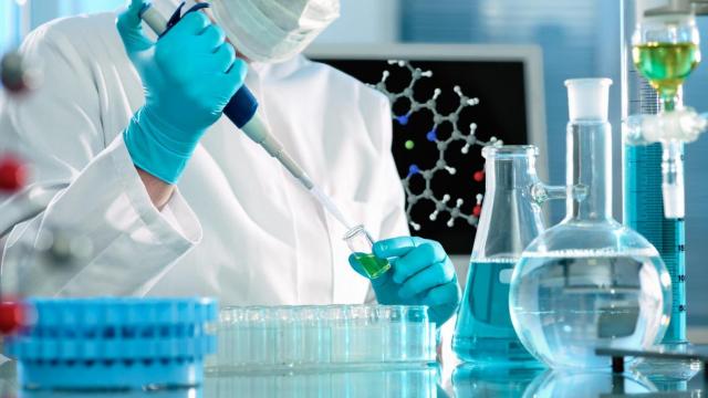 laboratoire. Recherche scientifique
