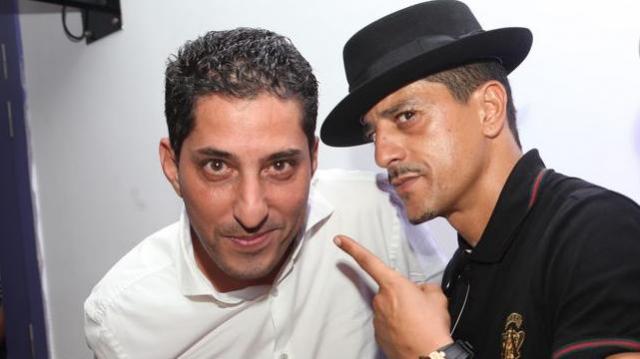 Simo Chaoui et Saïd Taghmaoui