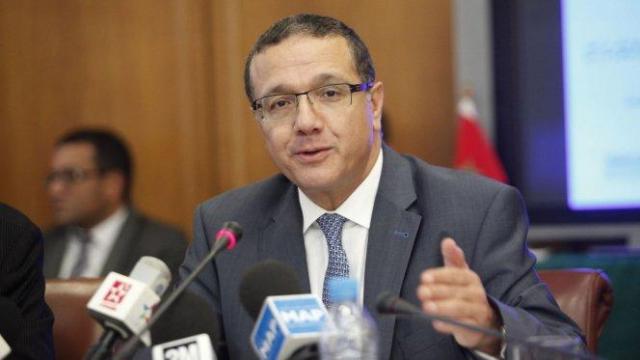 Mohamed Boussaid, ministre de l'Economie et des finances.