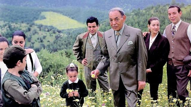 hassan II en famille