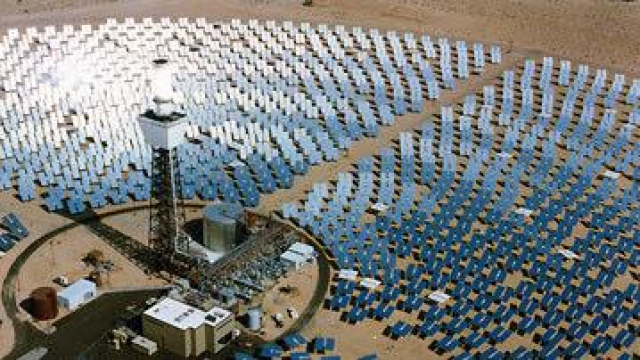 centrale thermo solaire