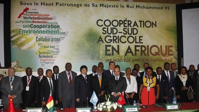 SIgnature de la déclaration de Marrakech